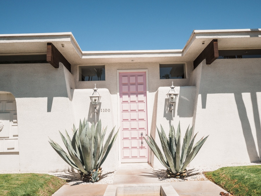 Palm Springs Pink Door American Road Trip