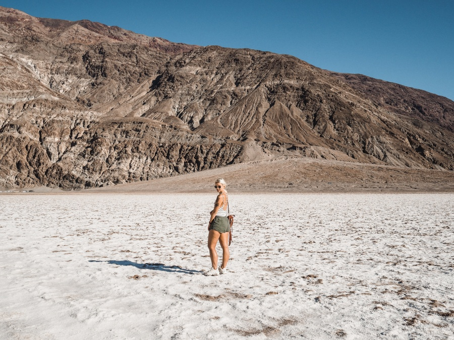 Death Valley american road trip